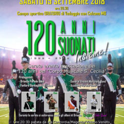 Brianza Parade Band festeggia il 120°