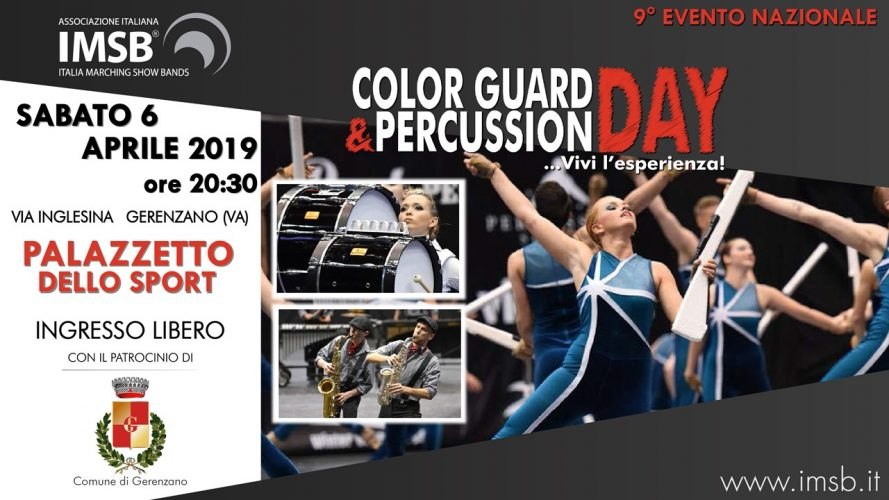 Color Guard and Percussion Day 2019
