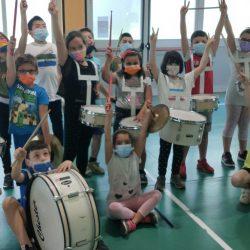 Marching Band nelle scuole elementari e medie